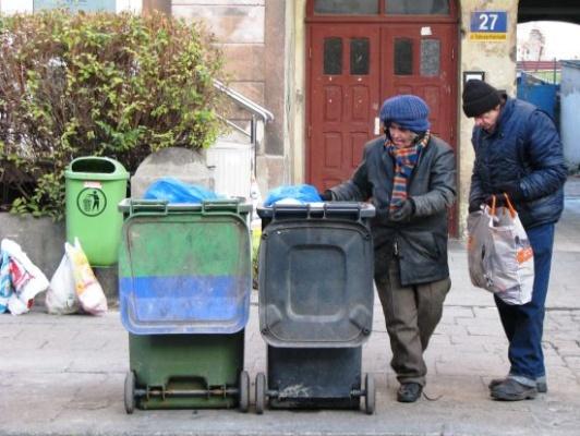 Bezdomni (fot. Małgorzata Lis-Skupińska/AFRO)