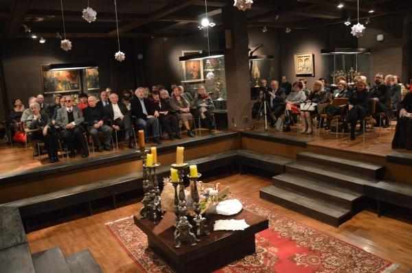 Opłatek dla środowisk twórczych w Opolu Spotkanie noworoczne opolskiego środowiska twórczego