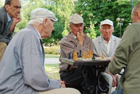 Seniorzy [fot. Małgorzata Lis-Skupińska]