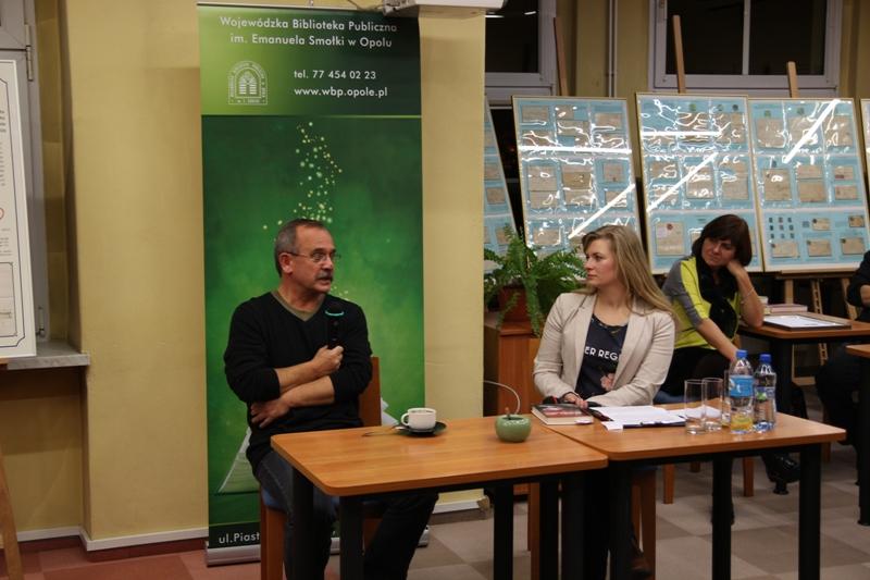 Wojciech Jagielski i Magdalena Szybińska [fot. WBP]