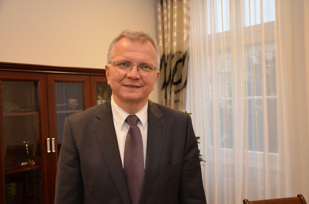 Jarosław Kielar, burmistrz Kluczborka [zdj. Piotr Wrona]